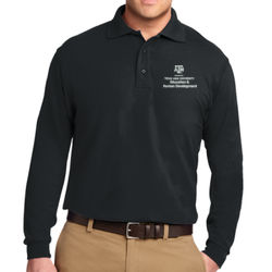 CEHD Long Sleeve Silk Touch Polo Thumbnail