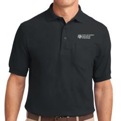 EPSY Silk Touch Polo w/ Pocket Thumbnail