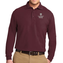 EPSY Long Sleeve Silk Touch Polo Thumbnail